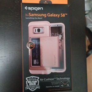 Samsung Galaxy S8 Spigen 2 Credit Card holder case